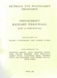 Festschrift für Richard Kerschagl