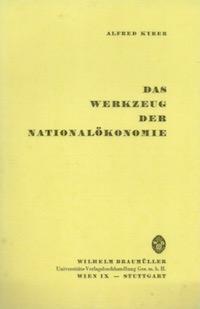 Das Werkzeug der Nationalökonomie